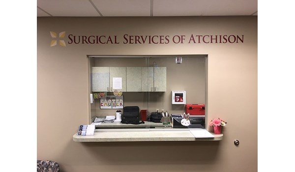 Interior Wall Graphic for Surgical Services of Atchison in Atchison, Kansas