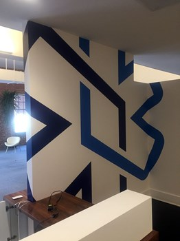 Interior Wall Graphic for Engage Mobile in Kansas City, Missouri