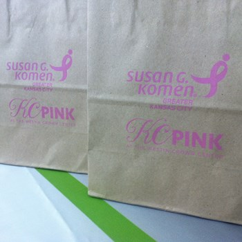 Imprinted Tote Bags for Sheraton at the Crown Center in Kansas City, Missouri
