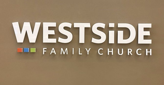 Interior Acrylic Dimensional Logo for Westside Family Church in Kansas City, Missouri