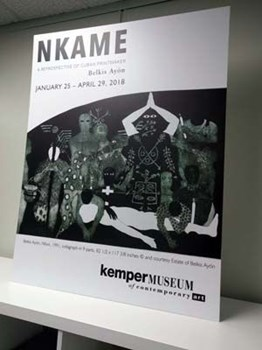 Foamcore Print Display for Kemper Museum of Contemporary Art in Kansas City, Missouri