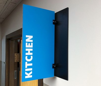 Interior PVC Room Signs for Westside Family Church in Kansas City, Kansas
