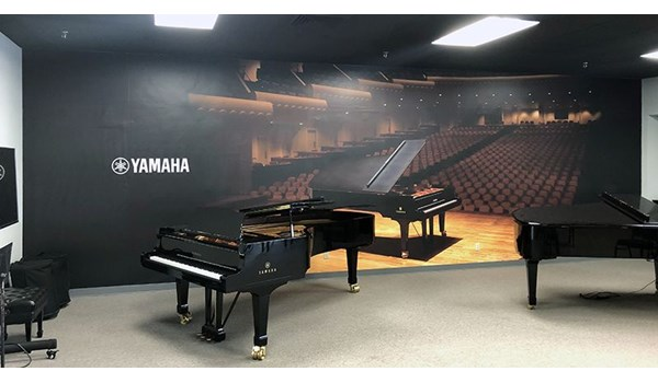 Interior Wall Graphic for Kansas City Piano in Lenexa, Kansas