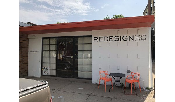 Exterior Wall Graphic for ReDesign KC in Kansas City, Missouri