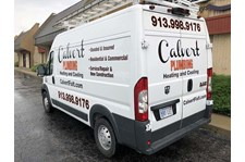 Vehicle Graphics for Calvert Plumbing in Lenexa, Kansas