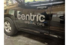 Cut Vinyl Door Decals for Centric Special Ops in Kansas City, Missouri