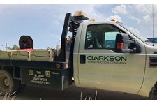 Clarkson Construction Decals for Trucks in Kansas City, Missouri