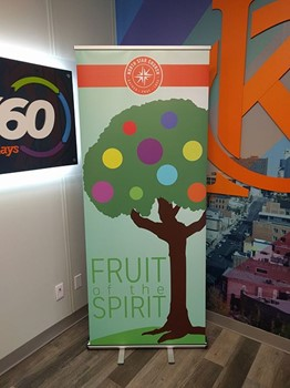 Retractable Banner Stand for North Star Church in Kansas City, Missouri