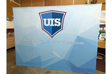 Tension Fabric Display for UIS in Kansas City, Missouri