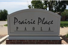 Exterior HDU Monument Sign for Prairie Place in Paola, Kansas